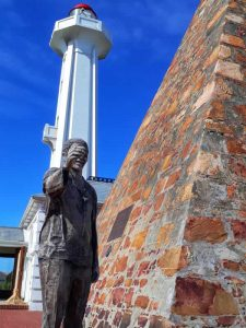 Nelson Mandela Statue Donkin Reserve Port Elizabeth